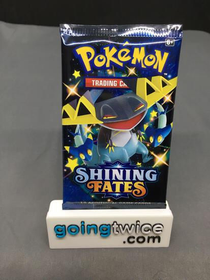 Factory Sealed Pokemon SHINING FATES 10 Card Booster Pack - Shiny CHARIZARD?