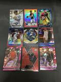 9 Card Lot of REFRACTORS and PRIZMS from Huge Collection with Rookies and Stars - WOW