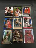 9 Card Lot of BASKETBALL ROOKIE CARDS - Mostly Newer Sets - From Huge Collection
