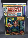 Marvel Comics MARVEL DOUBLE FEATURE #11 feat CAPT AMERICA and IRON MAN Vintage Comic Book