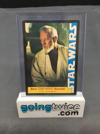 1977 20th Century Fox Star Wars #2 OBI-WAN KENOBI Vintage Trading Card