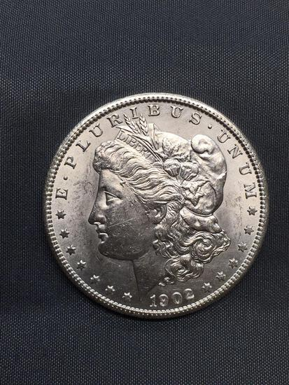 1902-O United States Morgan Silver Dollar - 90% Silver Coin from Estate