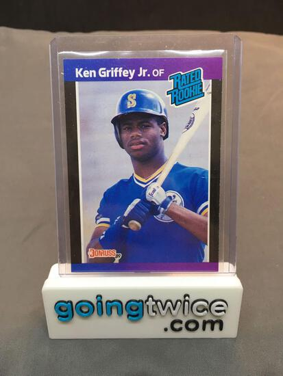 1989 Donruss #33 KEN GRIFFEY JR. Mariners ROOKIE Baseball Card from Huge Collection