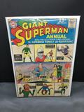 1962 DC Comics Giant SUPERMAN Annual #5 Silver Age Comic Book from Vintage Collection - Superman