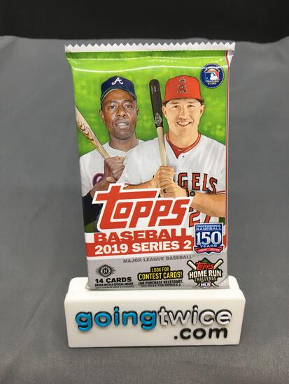 Factory Sealed 2019 TOPPS SERIES 2 Baseball 14 Card Hobby Pack - FERNANDO TATIS JR ROOKIE