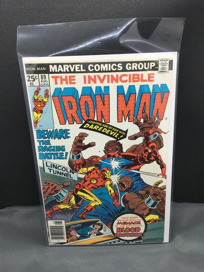 1976 Marvel Comics THE INVINCIBLE IRON MAN Vol 1 #89 Bronze Age Comic Book from Vintage Collection -