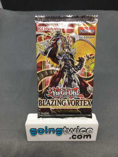 Factory Sealed Yu-Gi-Oh! Yugioh BLAZING VORTEX 9 Card Booster Pack