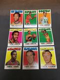 9 Card Lot of 1971-72 Topps Vintage Basketball Cards from Huge Estate Collection