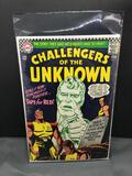 1967 DC Comics CHALLENGERS OF THE UNKNOWN Vol 1 #55 Silver Age Comic Book from Vintage Collection