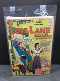 1958 DC Comics Superman's Girlfriend LOIS LANE #4 Silver Age Comic Book from Vintage Collection