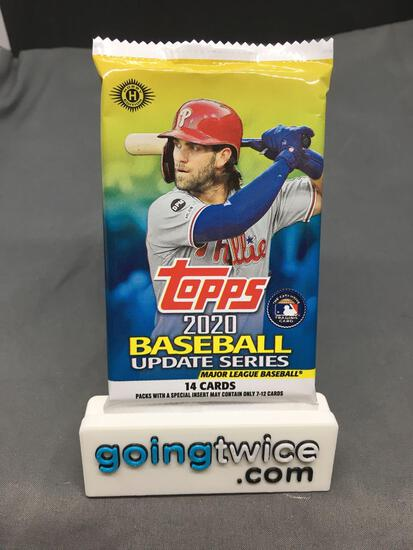 Factory Sealed 2020 TOPPS Update Series Baseball Hobby Edition 14 Card Pack