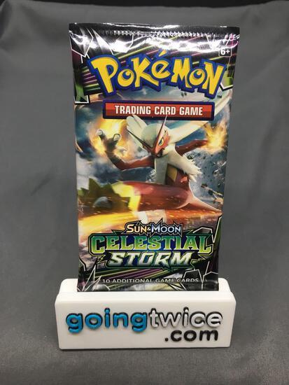 Factory Sealed Pokemon Sun & Moon CELESTIAL STORM 10 Card Booster Pack - LISIA FULL ART?