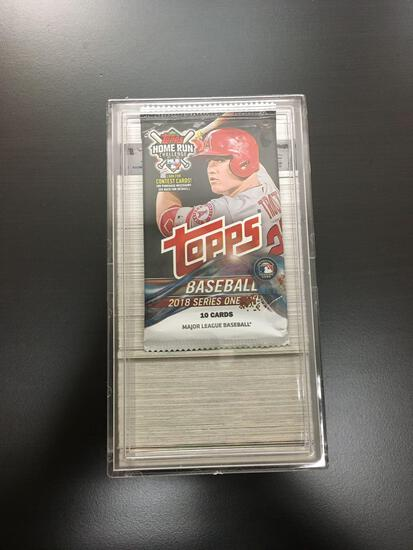 2018 Topps Series 1 Baseball 350 Card Complete Set