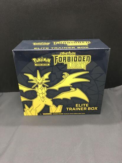 Factory Sealed Pokemon Sun & Moon Forbidden Light Elite Trainer Box - WOW
