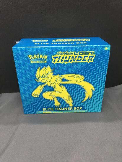 Factory Sealed Pokemon Sun & Moon Lost Thunder Elite Trainer Box - HIGH END