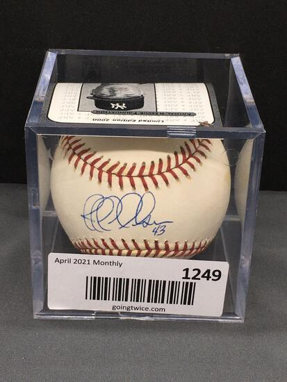 Signed JEFF NELSON Mariners Yankees Autographed Major League Baseball