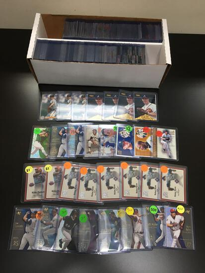 2 Row Box of Baseball Cards from Dealer Inventory