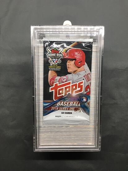 2018 Topps Series 1 Baseball 350 Card Complete Set