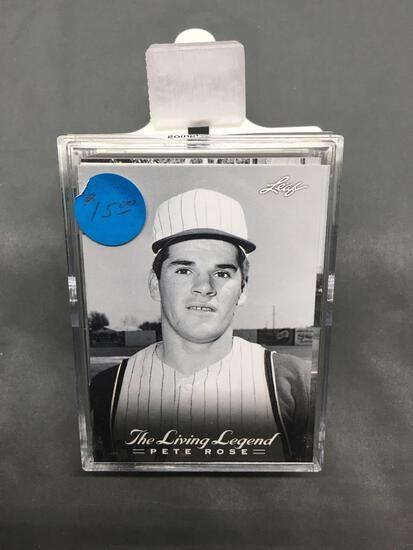 2012 Leaf Living Legend PETE ROSE Complete 50 Card Baseball Card Set