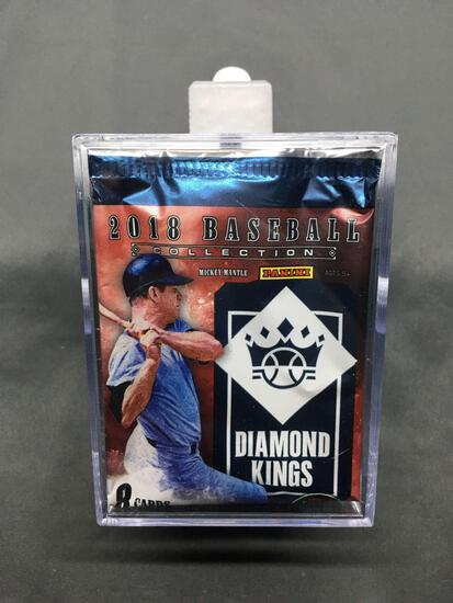 2018 Panini Diamond Kings Complete 100 Card Baseball Card Set