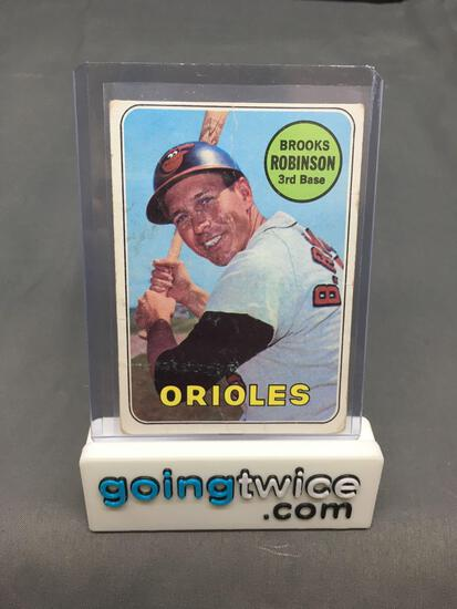 1969 Topps #550 BROOKS ROBINSON Orioles Vintage Baseball Card