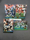 4 Card Lot of 1991 Stadium Club Football Star Cards - Emmitt Smith & More!