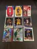 9 Card Lot of Basketball ROOKIE Cards - Modern Years - Prizms, Future Stars, and More!