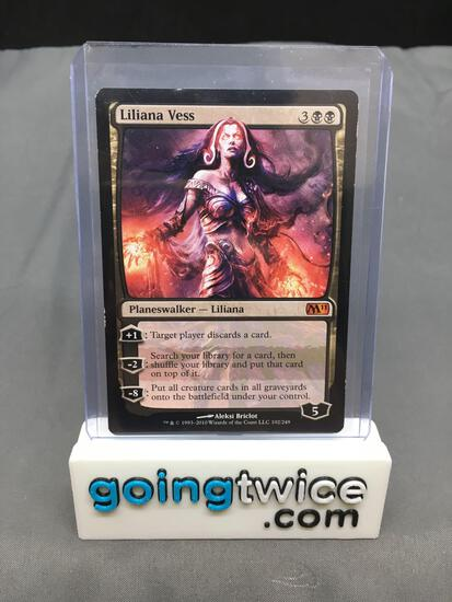 Magic the Gathering Core Set 2011 LILIANA VESS Mythic Rare Trading Card from Estate