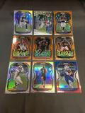 9 Count Lot of Star Player Refractors from Collection