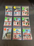 9 Card Lot of Vintage 1960's-1970's Topps Baseball Cards from HUGE Collection