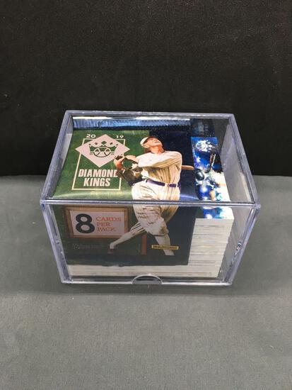 2019 Panini Diamond Kings Baseball Complete 100 Card Set