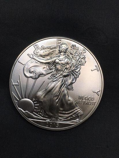 2015 United States 1 Ounce .999 Fine Silver American Eagle Bullion Round Coin