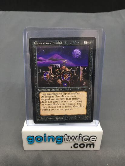 1993 Magic the Gathering Antiquities PHYREXIAN GREMLINS Vintage Trading Card from Consignor