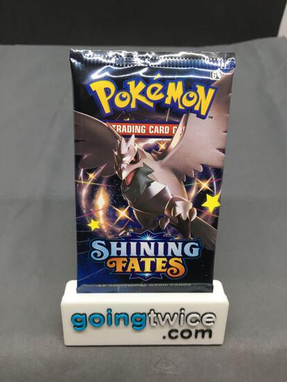 Factory Sealed Pokemon Sword & Shield SHINING FATES 10 Card Booster Pack