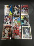 9 Card Lot of BASEBALL ROOKIE Cards from Huge Collection - Mostly Newer Sets!