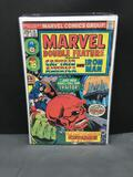 1975 Marvel Comics MARVEL DOUBLE FEATURE #14 Bronze Age Comic Book from Estate Collection - CAPT
