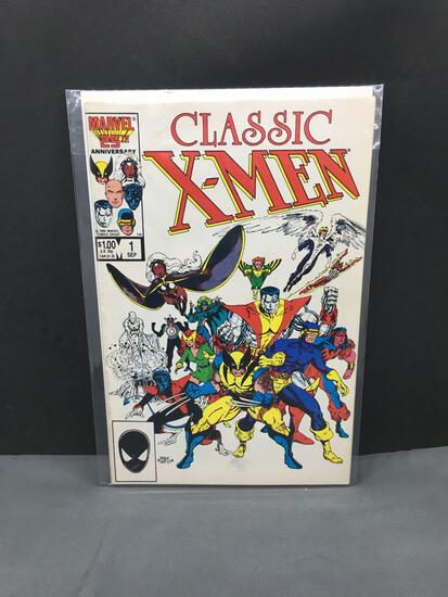 1986 Marvel Comics CLASSIC X-MEN #1 Copper Age Comic Book from Estate Collection