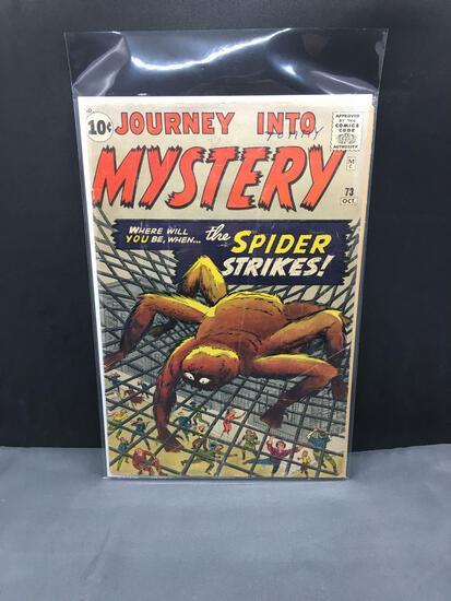 1961 Atlas Comics (Marvel) JOURNEY INTO MYSTERY Vol 1 #73 Silver Age Comic Book - Pre-Hero Spiderman