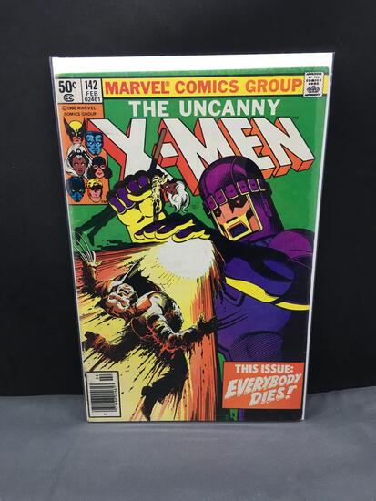 1981 Marvel Comics UNCANNY X-MEN Vol 1 #142 Bronze Age KEY Comic Book - Days of Future Past pt 2