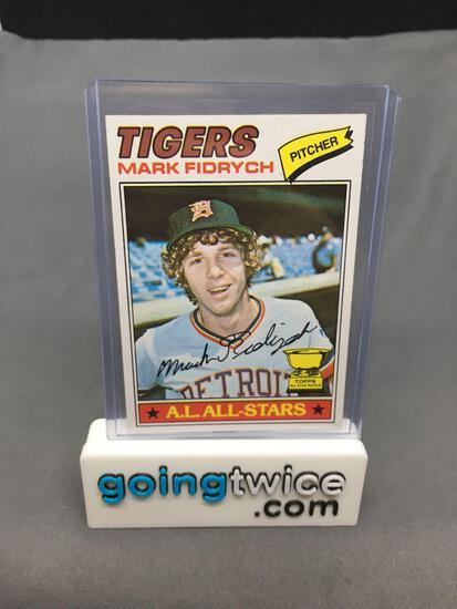 1977 Topps #265 MARK FIDRYCH Tigers ROOKIE Vintage Baseball Card