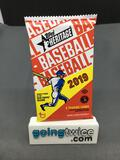 Factory Sealed 2019 Topps Heritage Baseball 9 Card Hobby Edition Pack