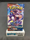 Factory Sealed Pokemon BATTLE STYLES 10 Card Booster Pack