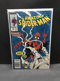 1988 Marvel Comics AMAZING SPIDER-MAN Vol 1 #302 Copper Age Comic Book - NEWSTAND