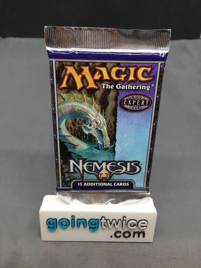 Factor Sealed 2000 Magic the Gathering NEMESIS 15 Card Booster Pack from Collection