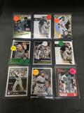 9 Card Lot of DEREK JETER New York Yankees Baseball Cards from Massive Collection