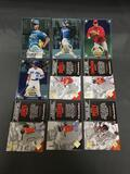 9 Card Lot of BASEBALL SERIAL NUMBERED Cards from Huge Collection with STARS & ROOKIES