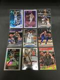 9 Card Lot of BASKETBALL ROOKIE CARDS - Mostly from Newer Sets with Future Stars & More!