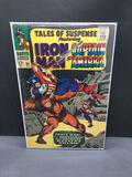 1967 Marvel Comics TALES OF SUSPENSE #88 feat IRON MAN and CAPTAIN AMERICA Silver Age Comic Book
