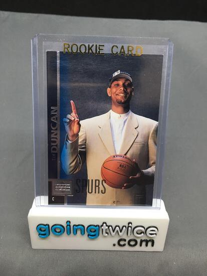 1997-98 Upper Deck #114 TIM DUNCAN Spurs ROOKIE Basketball Card