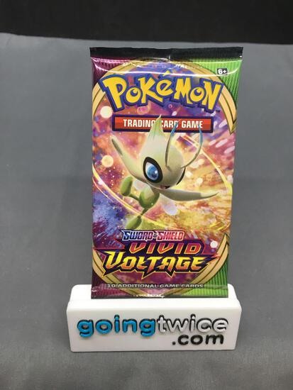 Factory Sealed Pokemon VIVID VOLTAGE 10 Card Booster Pack